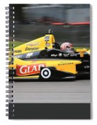 Indycar Performance Spiral Notebook