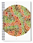 Ishihara Color Blindness Test Spiral Notebook