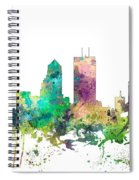 Jacksonville Florida Skyline Spiral Notebook