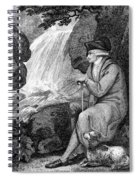 Jean Jacques Rousseau Spiral Notebook