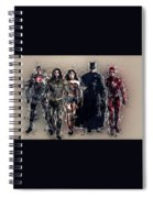 Justice League Spiral Notebook