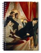 Lincoln Assassination Spiral Notebook