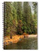 Merced River Yosemite Valley Spiral Notebook