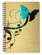 Music Flows Collection Spiral Notebook