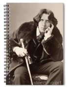 Oscar Wilde (1854-1900) Spiral Notebook