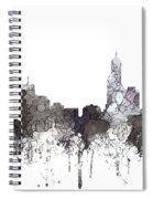 Perth  Australia Skyline  Spiral Notebook