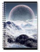 Planet Rise Spiral Notebook