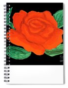 Red Rose, Painting Spiral Notebook