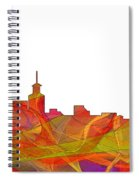Santa Fe New Mexico Skyline Spiral Notebook