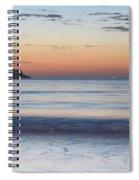 Soft Sunrise Seascape Spiral Notebook