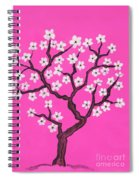 Spring Tree In Blossom, Painting Spiral Notebook