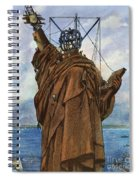 Statue Of Liberty 1886 Spiral Notebook
