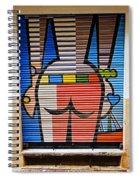 Street Art In Palma Majorca Spain Spiral Notebook