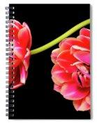Tulip Floral Arrangement Spiral Notebook