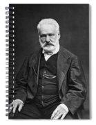 Victor Hugo (1802-1885) Spiral Notebook