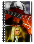Violin Collection Spiral Notebook