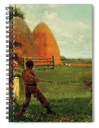 Weaning The Calf Spiral Notebook