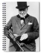 Winston Churchill Spiral Notebook