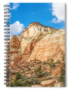 Zion Canyon National Park Utah Spiral Notebook
