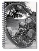 90 M P H Monocycle - 1933 Spiral Notebook