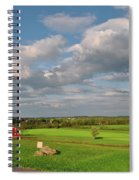 90th Pennsylvania Spiral Notebook