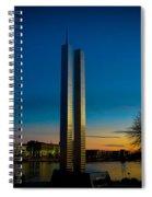 911 Memorial Green Bay Wi Spiral Notebook