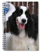 #940 D1038 Farmer Browns Springer Spaniel Adorable Happy Spiral Notebook