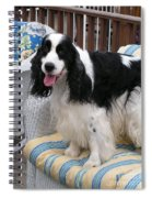 #940 D1040 Farmer Browns Springer Spaniel Cute Spiral Notebook