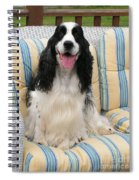 #940 D1075 Farmer Browns Happy For You Spiral Notebook