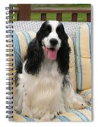 #940 D1076 Farmer Browns Happy For You Spiral Notebook
