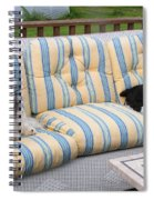 #940 D1080 Farmer Browns Separate But Always Together Spiral Notebook