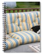 #940 D1082 Farmer Browns Separate But Always Together Spiral Notebook
