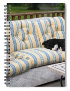 #940 D1084 Farmer Browns Separate But Always Together Spiral Notebook