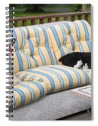 #940 D1087 Farmer Browns Separate But Always Together Spiral Notebook