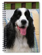 #940 D1090 Farmer Browns Springer Spaniel Spiral Notebook
