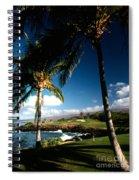 9th Hole Mona Kea Spiral Notebook