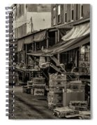 9th Street Italian Market - Philadelphia Pennsylvania Spiral Notebook