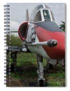 A - 4 Skyhawk - 3 Spiral Notebook