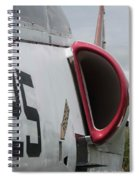 A - 4 Skyhawk - 4 Spiral Notebook