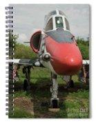 A - 4 Skyhawk Spiral Notebook