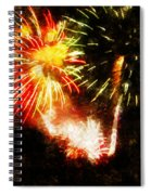 A 4th Celebration  Spiral Notebook