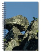 A Balancing Rock  Spiral Notebook