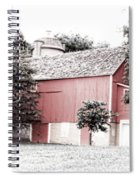 A Barn In The City Spiral Notebook