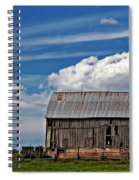 A Barn Spiral Notebook