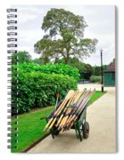 A Barrow Load Of Oars Spiral Notebook