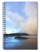 A Beach Like This II Spiral Notebook