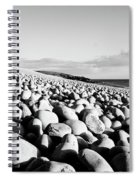 A Beach Of Stones Spiral Notebook
