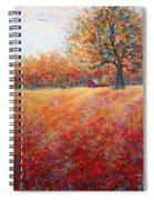 A Beautiful Autumn Day Spiral Notebook