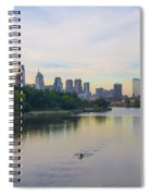 A Beautiful Day In Philadelphia Spiral Notebook