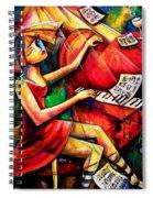 A Beautiful Heart, A Beautiful Mind Spiral Notebook